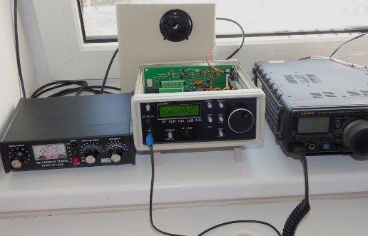 HF SDR TRX 160-10 m OK1NOF