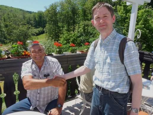 Tibor, OM7CF a Norbert, OM6NR