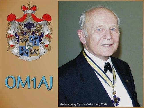 Prince Juraj Dipl.Ing, CSc. Radziwill-Anoshkin