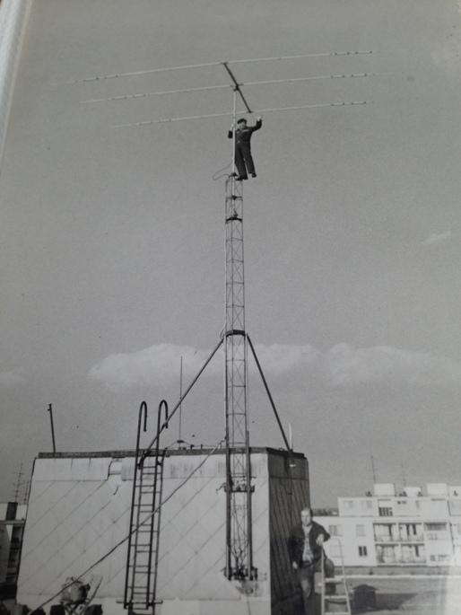 Na stožiari Jano, OM3TC