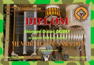 Diplom OK2BKP