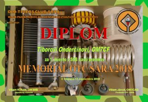 Diplom OM7CF