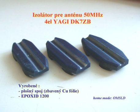 Detail stredu žiariča DK7ZB 50MHz