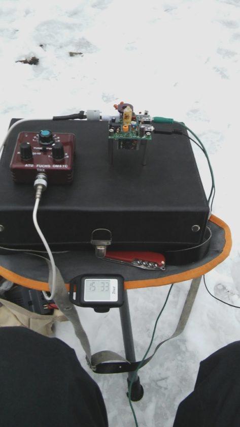 QRP kufrík 2